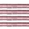 Miyuki Tila Beads 5X5mm 2 Hole Light Amethyst Transparent
